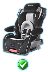 Child Safety Seats - No additional charge